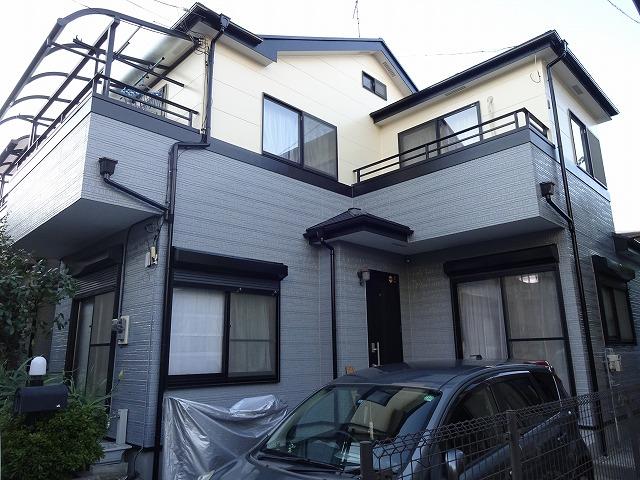 【施工実績7】外壁塗装・屋根塗装:埼玉県和光市