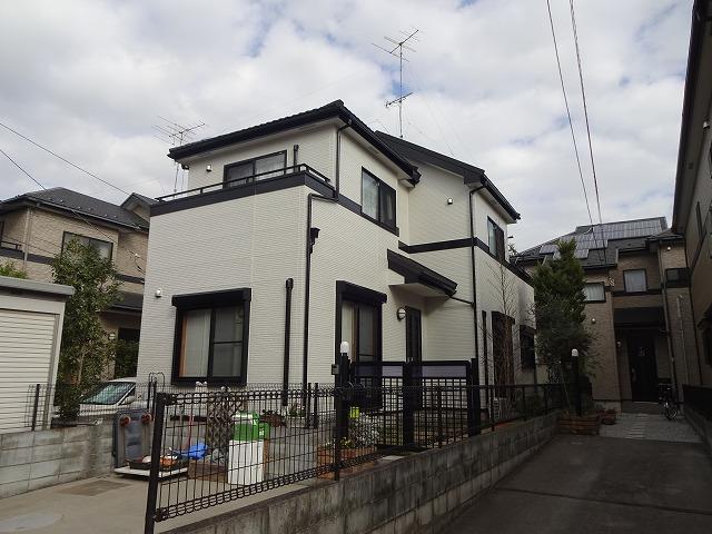 【施工実績9】外壁塗装・屋根塗装:埼玉県北足立郡伊奈町