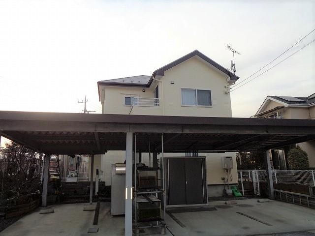 【施工実績221】外壁塗装・屋根塗装:群馬県藤岡市