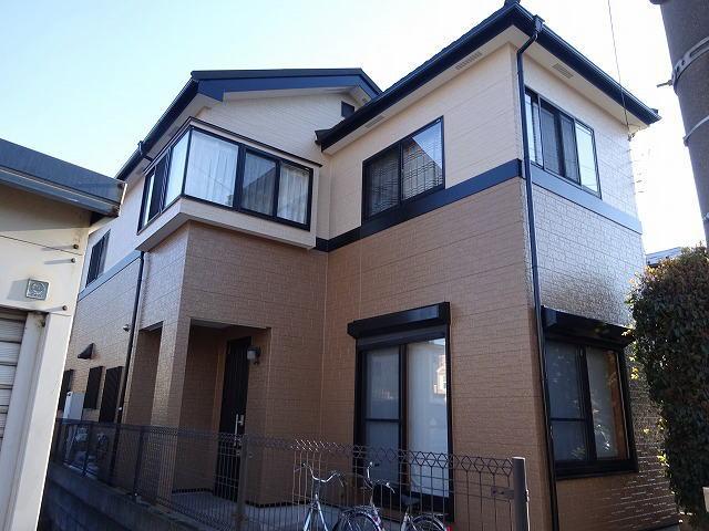 【施工実績230】外壁塗装・屋根重ね葺き:埼玉県川口市