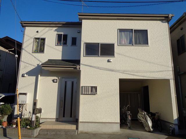 【施工実績234】外壁塗装・屋根重ね葺き:埼玉県さいたま市北区