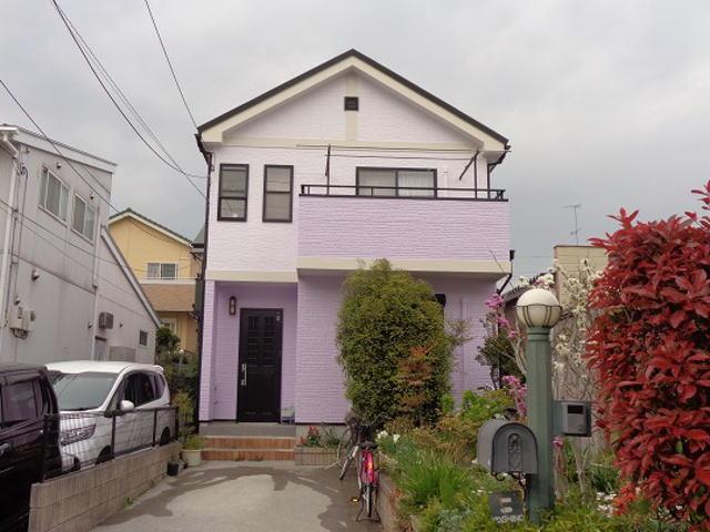 【施工実績235】外壁塗装・屋根重ね葺き:埼玉県加須市