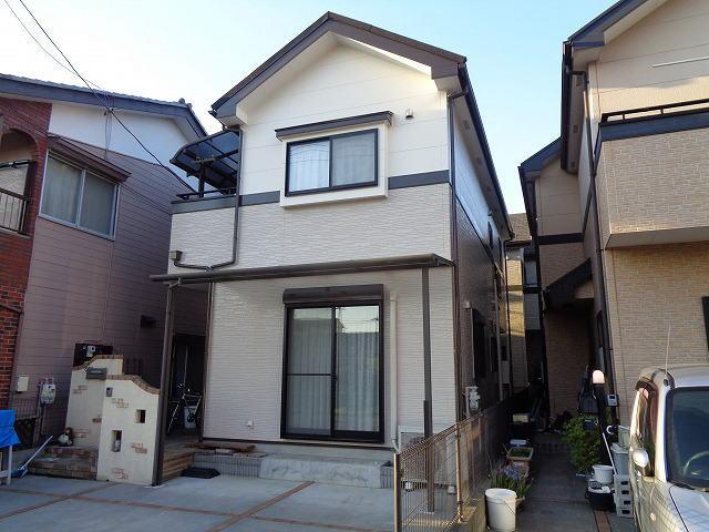【施工実績237】外壁塗装・屋根重ね葺き:埼玉県春日部市