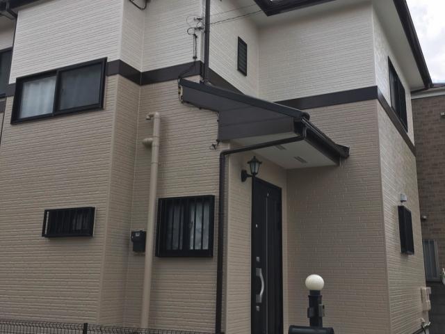 【施工実績246】外壁塗装・屋根重ね葺き:埼玉県三郷市