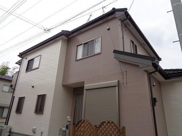 【施工実績255】外壁塗装・屋根重ね葺き:埼玉県白岡市