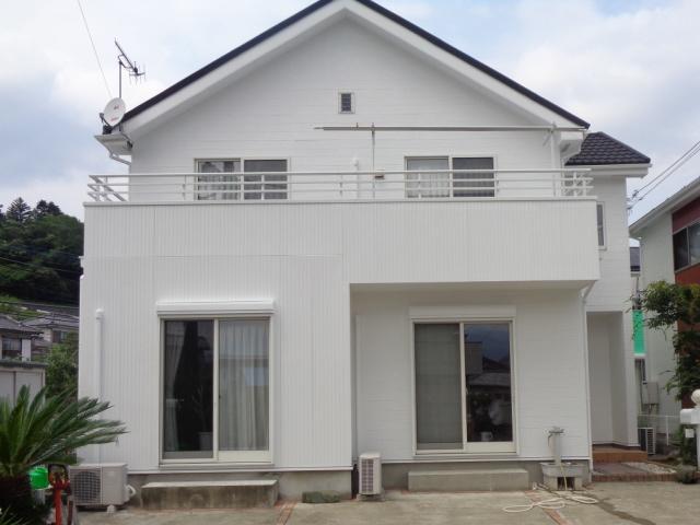 【施工実績266】外壁塗装・屋根重ね葺き:群馬県富岡市