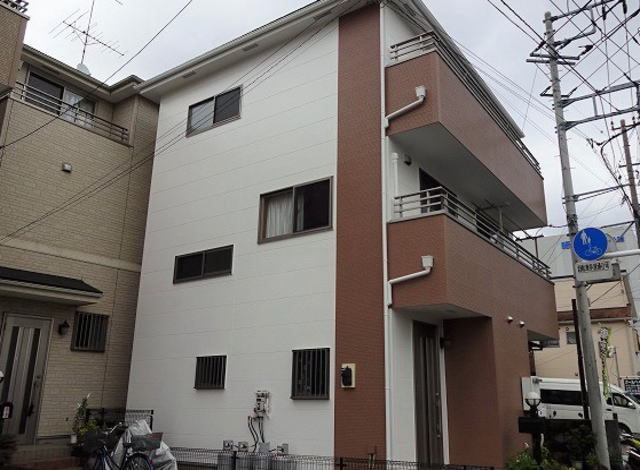 【施工実績267】外壁塗装・屋根重ね葺き:埼玉県戸田市