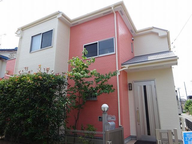 【施工実績274】外壁塗装・屋根塗装:埼玉県坂戸市