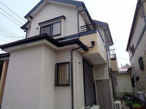 【施工実績271】外壁塗装・屋根重ね葺き:埼玉県三郷市