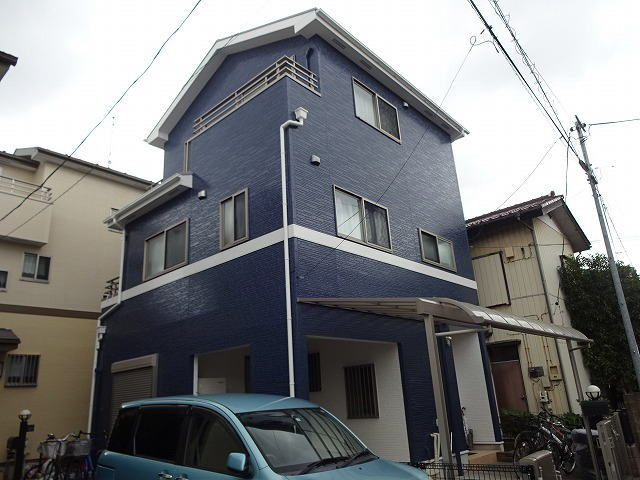 【施工実績275】外壁塗装・屋根塗装:埼玉県戸田市