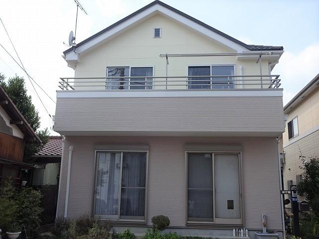 【施工実績280】外壁塗装・屋根重ね葺き:群馬県高崎市