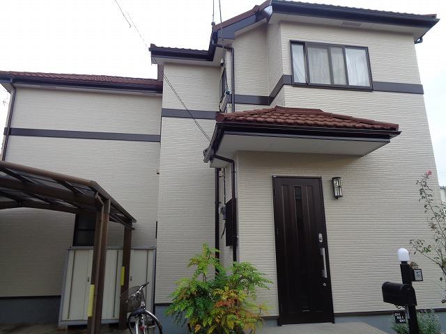 【施工実績282】外壁塗装・屋根重ね葺き:埼玉県幸手市