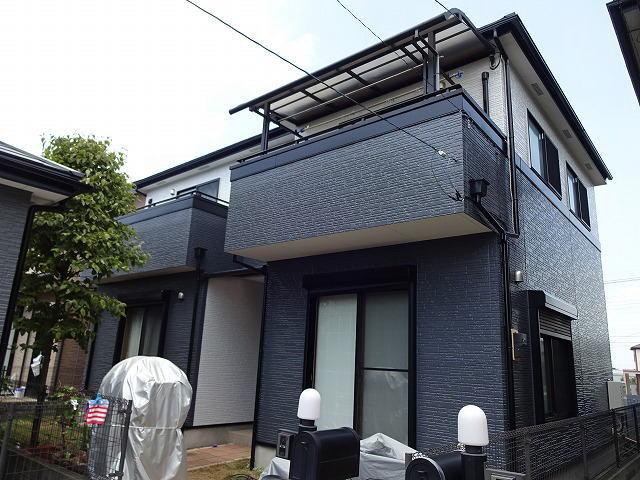 【施工実績283】外壁塗装・屋根塗装:埼玉県鴻巣市
