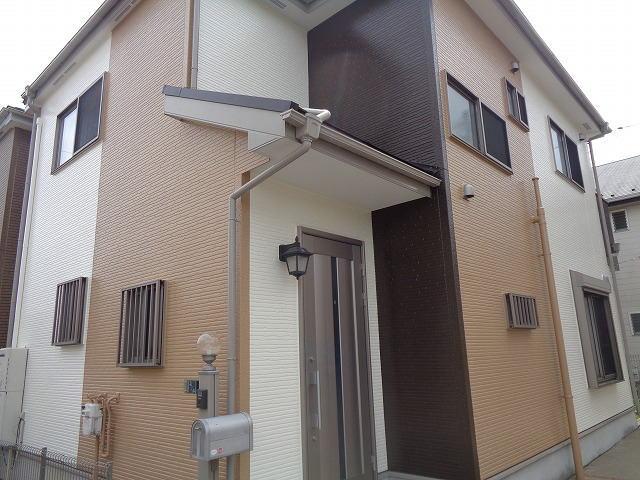 【施工実績285】外壁塗装・屋根重ね葺き:埼玉県春日部市