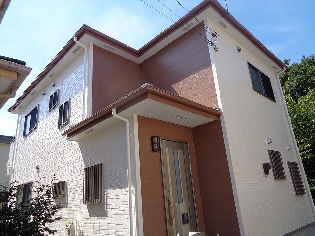 【施工実績288】外壁塗装・屋根塗装:群馬県前橋市