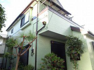 【施工実績294】外壁塗装・屋根重ね葺き:埼玉県越谷市