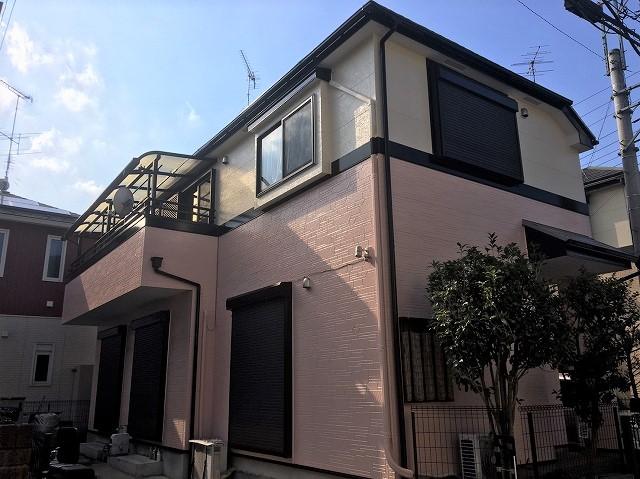 【施工実績298】外壁塗装・屋根塗装:埼玉県所沢市