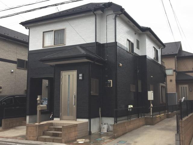 【施工実績307】外壁塗装・屋根重ね葺き:埼玉県草加市
