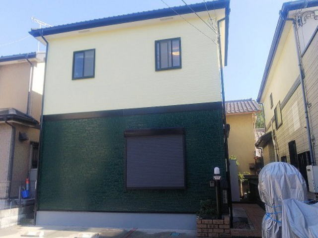 【施工実績312】外壁塗装・屋根重ね葺き:埼玉県さいたま市南区