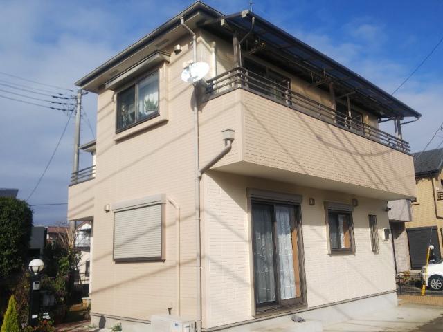 【施工実績334】外壁塗装・屋根塗装:埼玉県比企郡川島町