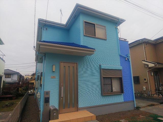【施工実績335】外壁塗装・屋根塗装:埼玉県飯能市