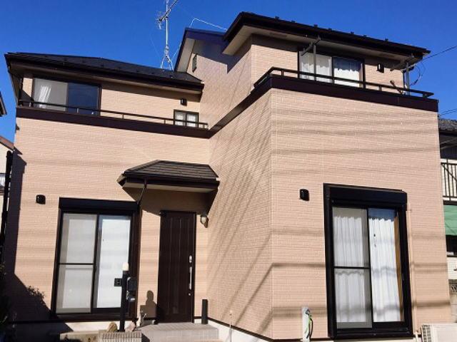 【施工実績337】外壁塗装・屋根塗装:埼玉県さいたま市西区
