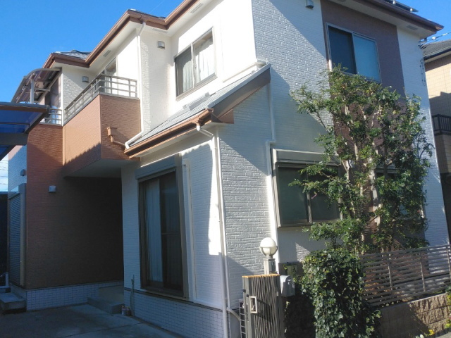 【施工実績339】外壁塗装・屋根塗装:埼玉県白岡市