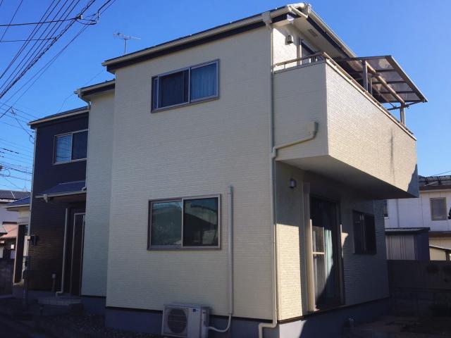【施工実績344】外壁塗装・屋根塗装:埼玉県白岡市