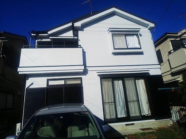 【施工実績345】外壁塗装・屋根重ね葺き:群馬県前橋市